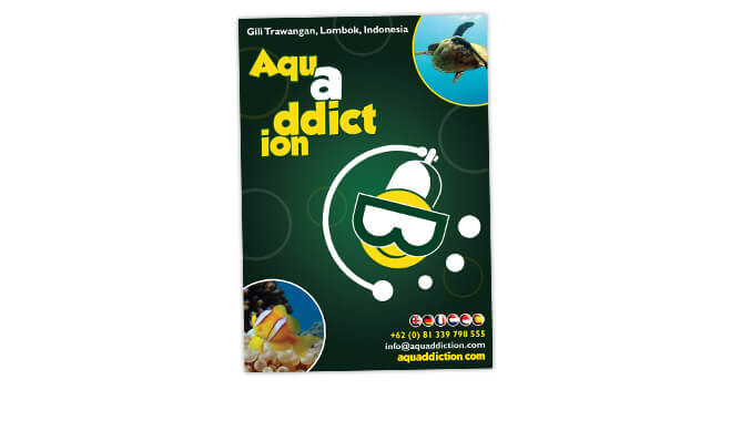 Aquaddiction Sticker