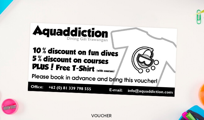 Aquaddiction Voucher