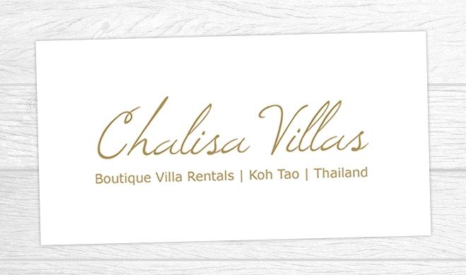 Chalisa Villas Logo