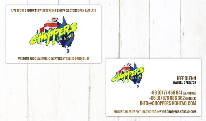 Choppers Card 2