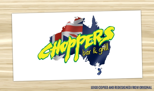 Choppers Bar and Grill Logo