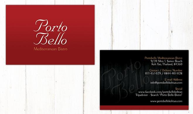 Portobello Card