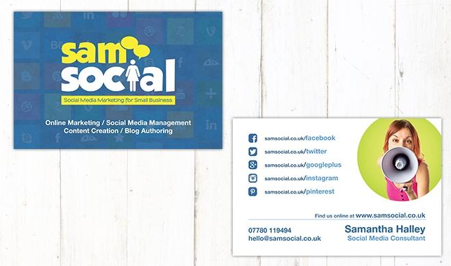 Sam Social Card