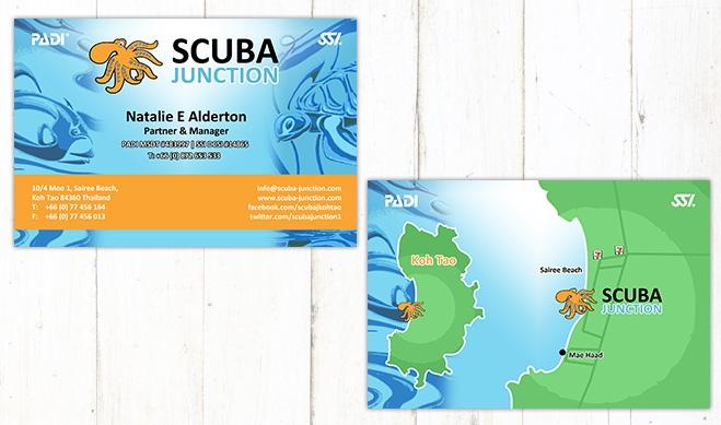 Scuba J Card