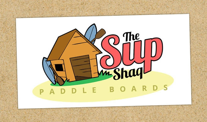 Sup Shaq Paddle Boards Logo