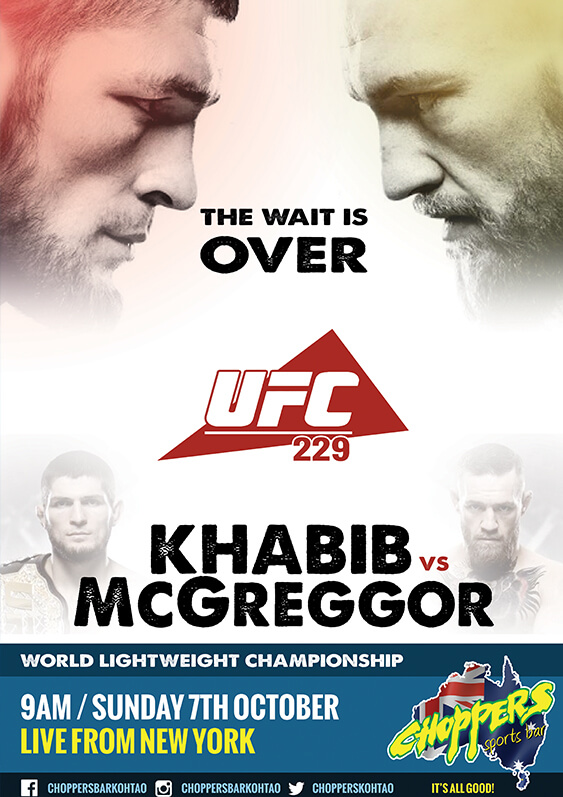 UFC229-Poster