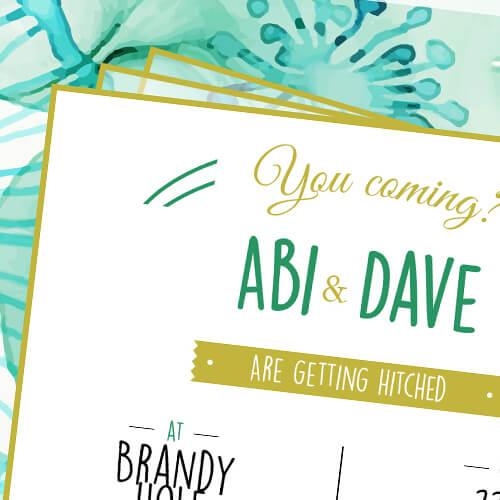 Abi and Dave Wedding