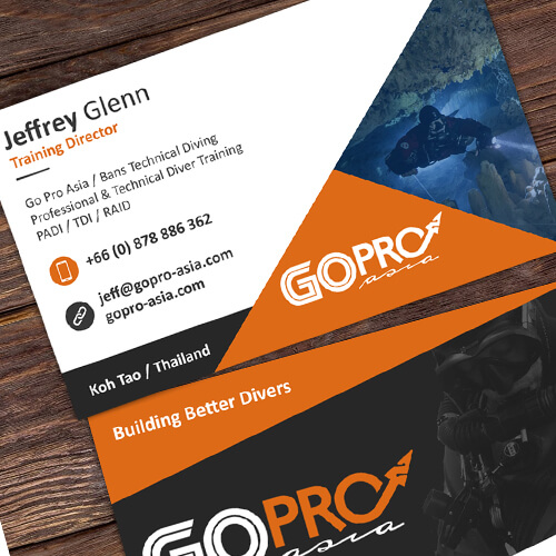 Go Pro Asia – Business Card